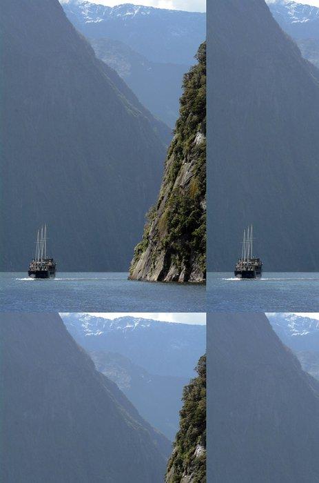 Tapeta Pixerstick Milford Sound, Nový Zéland - Oceánie