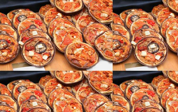Tapeta Pixerstick Mini pizzy - Osud