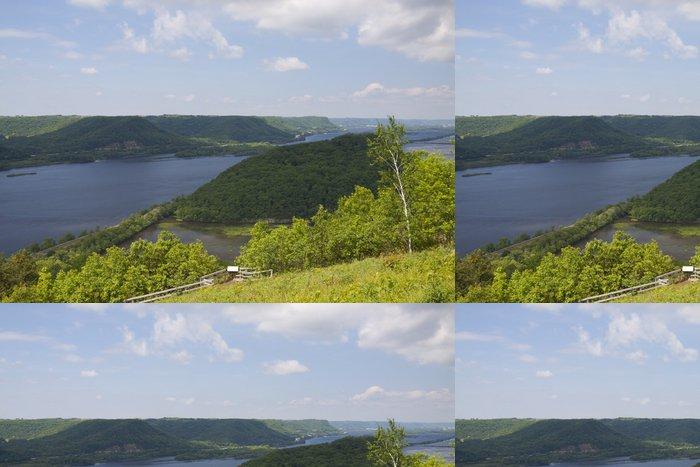 Tapeta Pixerstick Mississippi River Vista - Voda