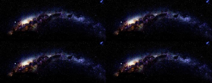 Tapeta Pixerstick Mléčná dráha v Antarktidě - Témata