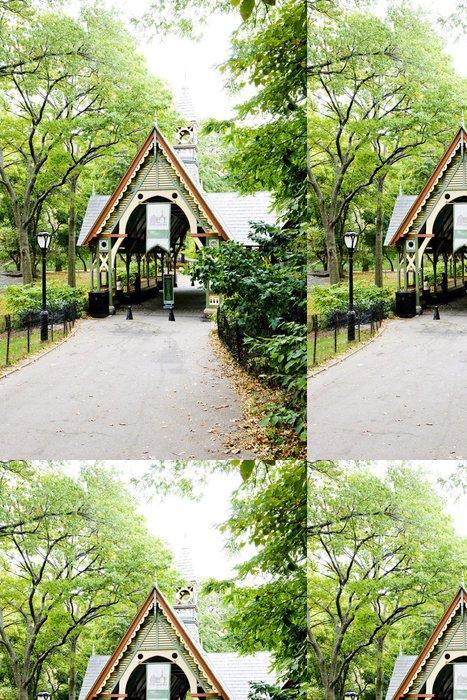 Vinylová Tapeta Mléko - návštěvnické centrum, Central Park, New York City, USA - Americká města