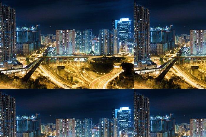 Tapeta Pixerstick Moderní budova v Hong-Kongu - Asijská města