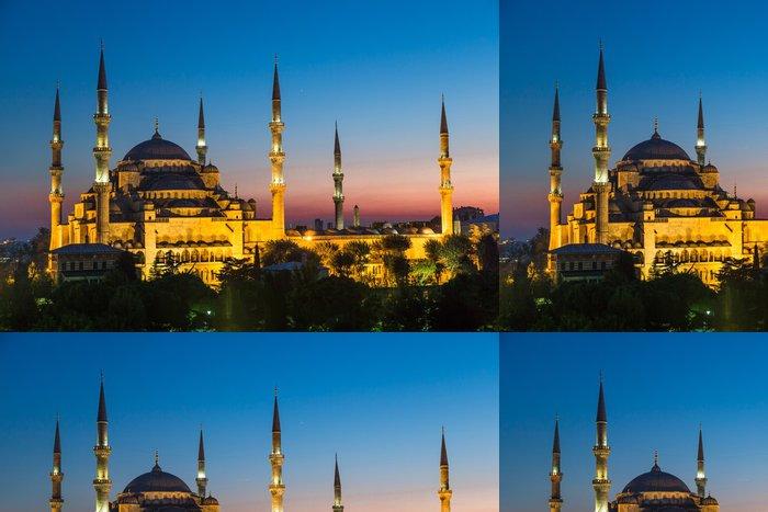 Tapeta Pixerstick Modrá mešita, Istanbul, Turecko. - Střední Východ