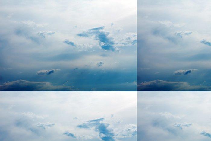 Tapeta Pixerstick Modrá obloha s mraky - Nebe
