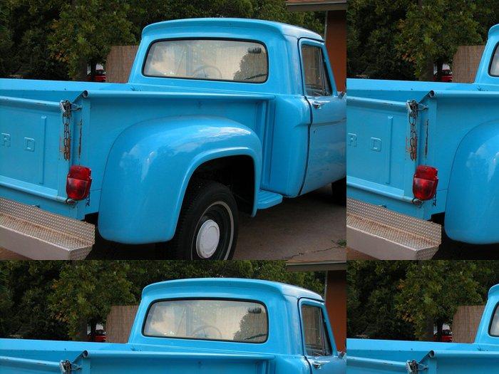 Tapeta Pixerstick Modrá Truck - Na cestě