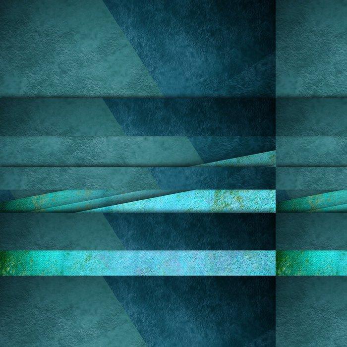 Tapeta Pixerstick Modré čáry pozadí karty - Pozadí
