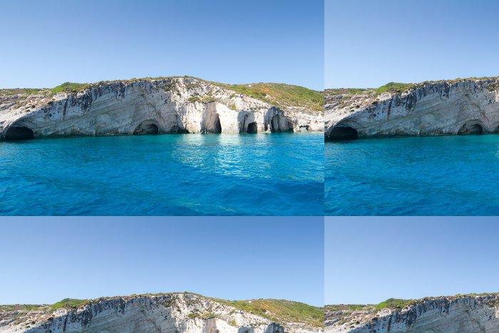 Tapeta Pixerstick Modré jeskyně v Řecku - Voda