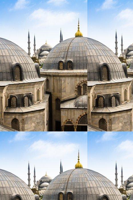 Tapeta Pixerstick Modrý (Sultan Ahmed) mešita, Istanbul, Turecko - Střední Východ