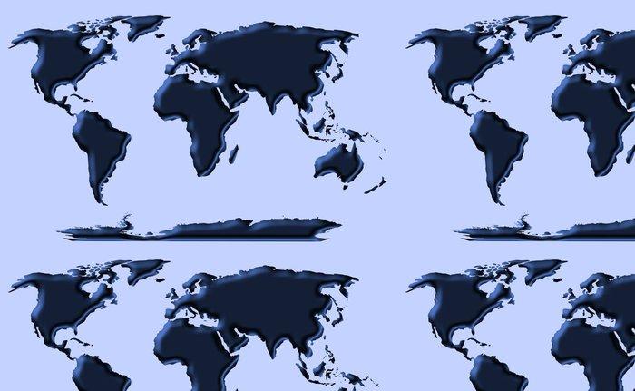 Tapeta Pixerstick Modrý svět - Doplňky a věci