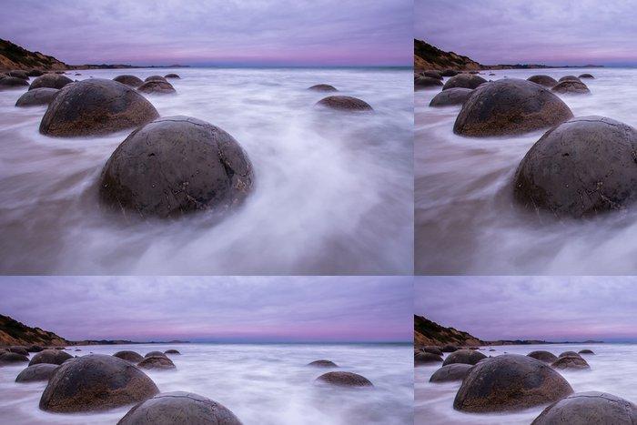 Tapeta Pixerstick Moeraki Boulders, Jižní ostrov Nového Zélandu - Voda