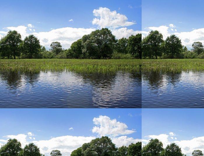 Vinylová Tapeta Mokřady krajiny v národním parku v Bělorusku - Evropa