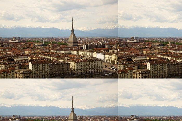 Vinylová Tapeta Mole, Turín, Piemont, Itálie - Evropa