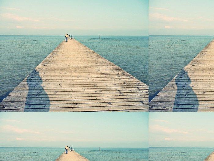 Vinylová Tapeta Molo v Lago di Garda - Témata