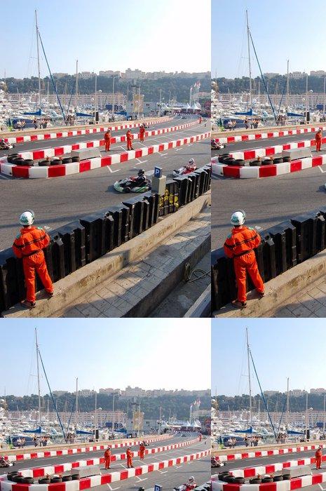 Vinylová Tapeta Monaco karting trénink mistrovství světa - Extrémní sporty