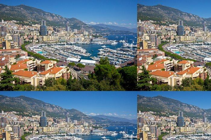 Tapeta Pixerstick Monako - Evropa