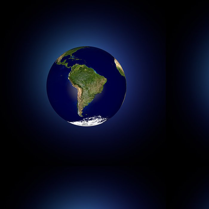 Vinylová Tapeta Mondo terra Globo America latina - Amerika