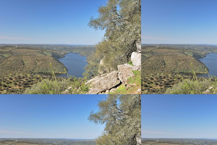 Tapeta Pixerstick Monfrague, rio Tajo - Voda