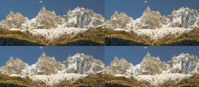 Tapeta Pixerstick Mont-Blanc pre-držáky nést Chamonix ve Francii - Úspěch