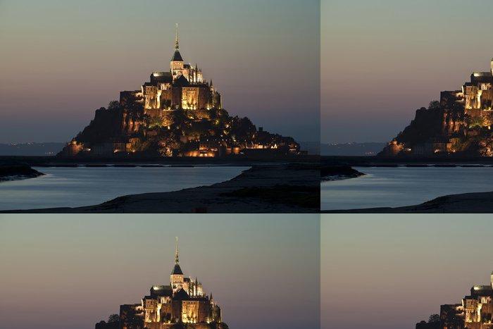 Vinylová Tapeta Mont-St-Michel - Prázdniny