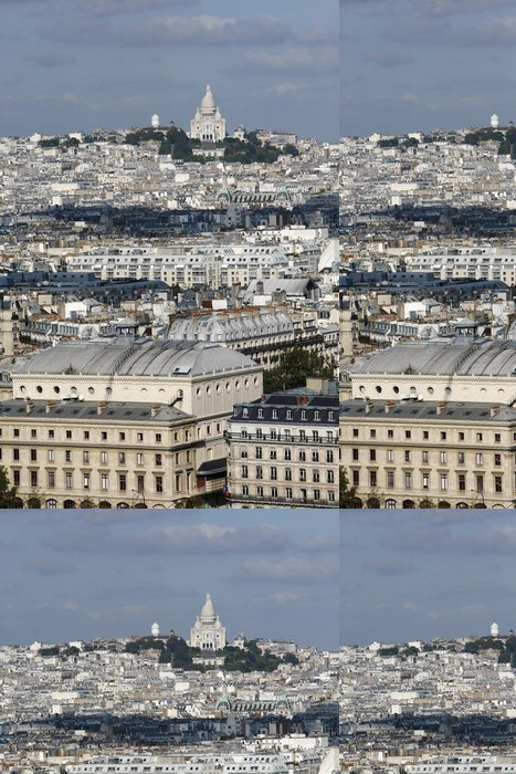 Tapeta Pixerstick Montmartre Paris - Evropská města