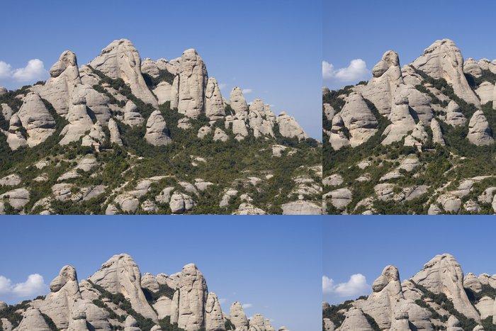 Tapeta Pixerstick Montserrat Mountain - Témata