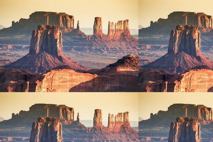 Tapeta Pixerstick Monument Valley, Hunt Mesa - Amerika