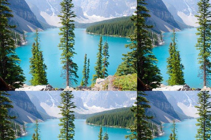 Vinylová Tapeta Morain Lake Canada - Prázdniny