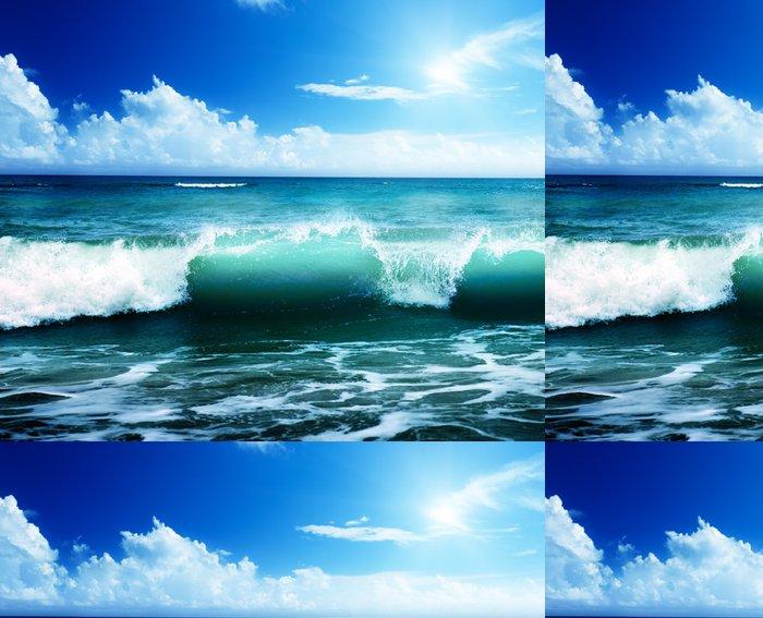 Tapeta Pixerstick Moře a písek - Voda