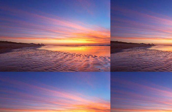 Tapeta Pixerstick Moře a západ slunce - Voda