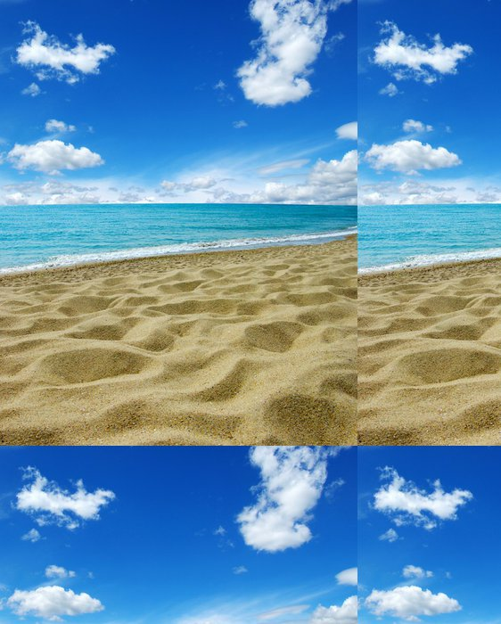 Tapeta Pixerstick Moře je nebe - Voda