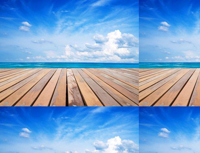Vinylová Tapeta Moře - Nebe