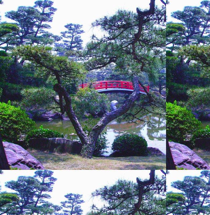 Vinylová Tapeta Most přes bonsají - Asie