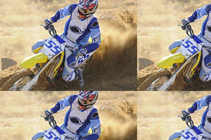 Tapeta Pixerstick Motocross 55 - Extrémní sporty