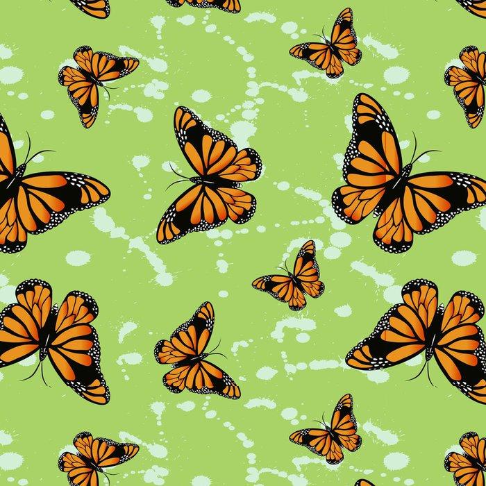 Vinylová Tapeta Motýl bezešvé tapety - Struktury