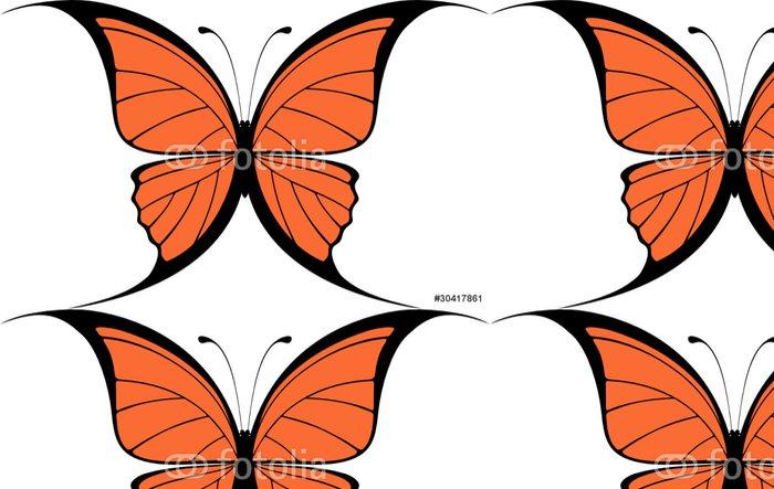 Tapeta Pixerstick Motýl vektor - Roční období