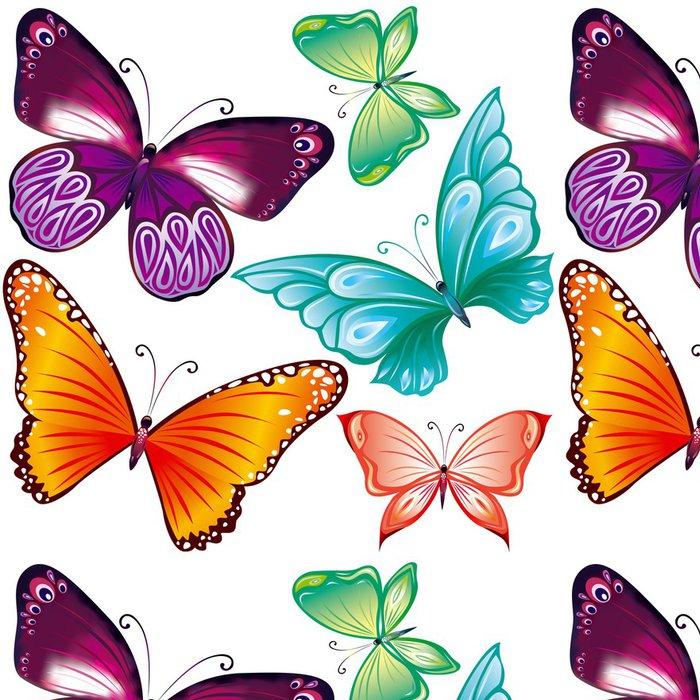 Tapeta Pixerstick Motýli sada - Roční období