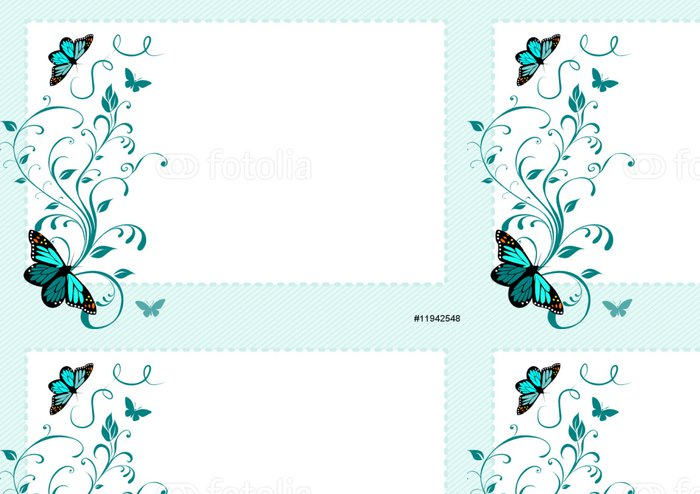 Tapeta Pixerstick Motýli - Roční období