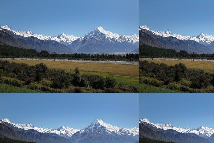 Vinylová Tapeta Mount Cook en Nouvelle-Zélande - Oceánie