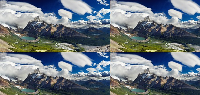 Tapeta Pixerstick Mount Fitz Roy, Patagonia, Argentina - Témata