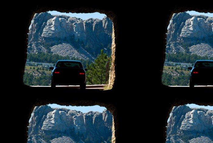 Tapeta Pixerstick Mount Rushmore - Amerika