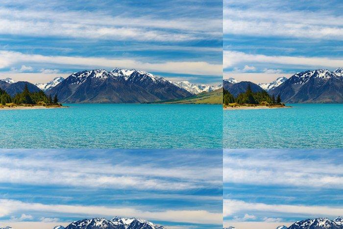 Tapeta Pixerstick Mountain Lake - Oceánie