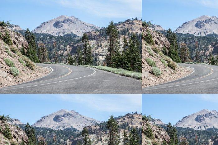 Vinylová Tapeta Mountain Road - Amerika