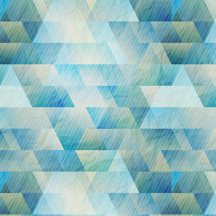 Tapeta Pixerstick Mozaika papír - Móda