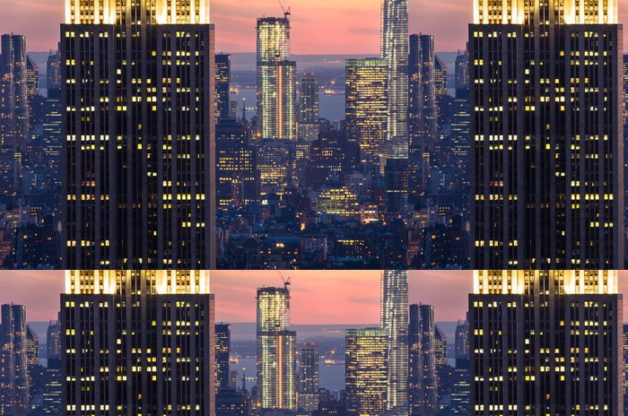 Tapeta Pixerstick Mrakodrapy v New Yorku - Témata