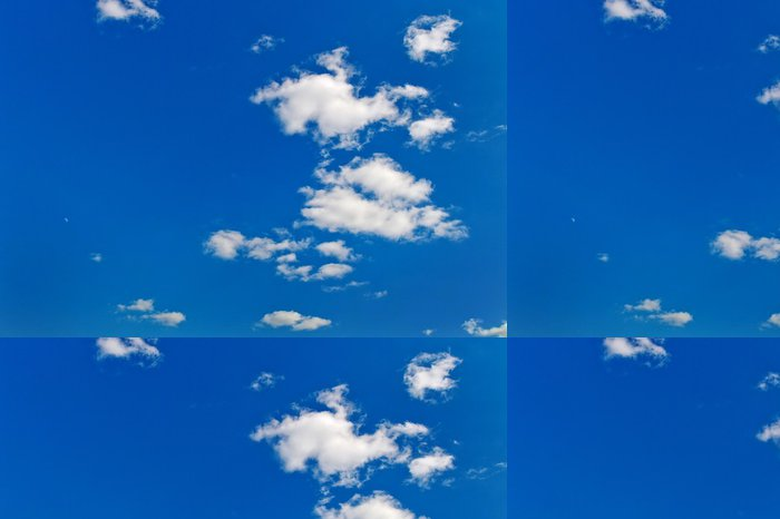 Tapeta Pixerstick Mraky proti modré obloze - Evropa