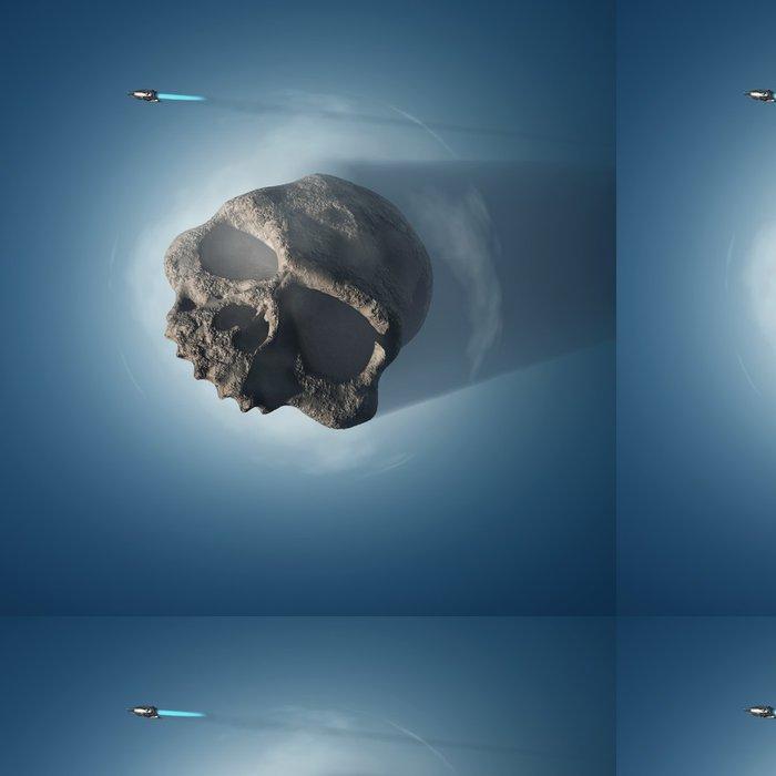 Tapeta Pixerstick Mrtvá planeta - Meziplanetární prostor