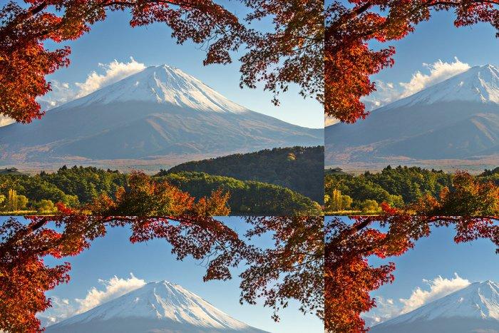 Tapeta Pixerstick Mt. Fuji na podzim - Témata