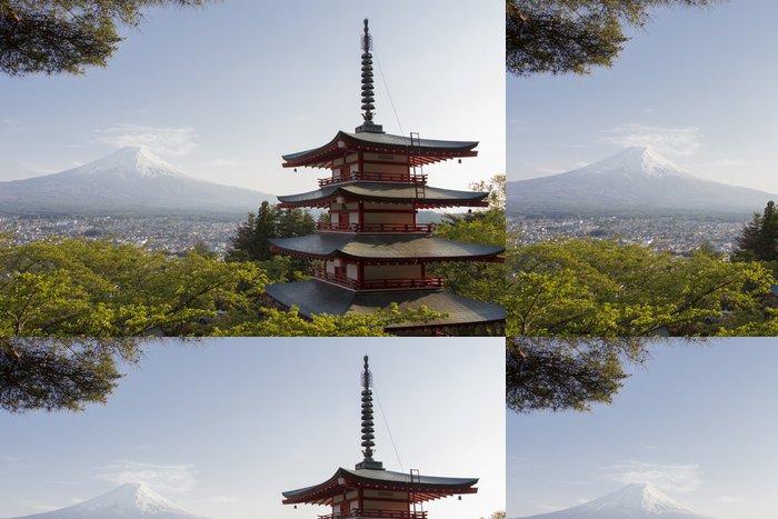Tapeta Pixerstick Mt. Fuji pohledu zezadu Chureito Pagoda - Témata