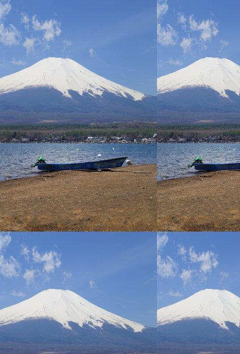 Vinylová Tapeta Mt.Fuji u jezera Yamanaka, Japonsko - Hory