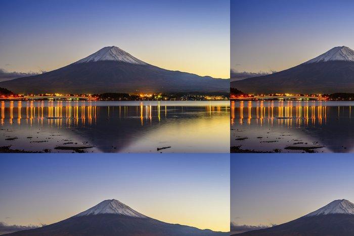 Tapeta Pixerstick Mt. Fuji za soumraku u jezera Kawaguchi - Témata